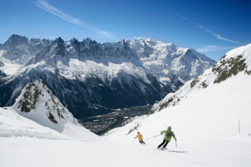 Les activités à sensations fortes à Chamonix